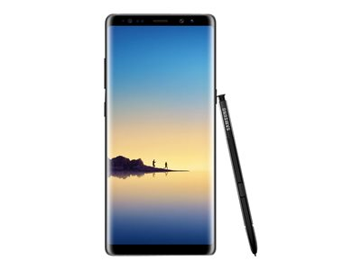 Samsung Galaxy Note8 - SM-N950U1 - midnight black - 4G HSPA+ - 64 GB - CDMA  / GSM - smartphone