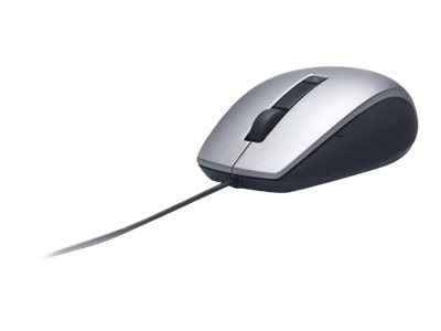 Dell - mouse - USB - silver