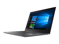 "Lenovo V320-17IKB 81CN - Core i7 8550U / 1.8 GHz - Win 10 Pro 64 bits - 8 Go RAM - 1 To HDD - graveur de DVD - 17.3"" IPS 1920 x 1080 (Full HD) - GF MX150 / UHD Graphics 620 - Wi-Fi, Bluetooth - gris de fer"