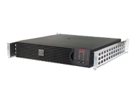 APC Smart-UPS RT 1000VA - UPS ( rack-mountable ) - AC 220/230/240 V - 700 Watt - 1000 VA - RS-232 - 6 Output Connector(s) - 2U - black - with APC UPS Network Management Card AP9631