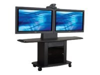 AVTEQ GMP Series 200L-TT2 Cart for 2 LCD displays / video conference camera
