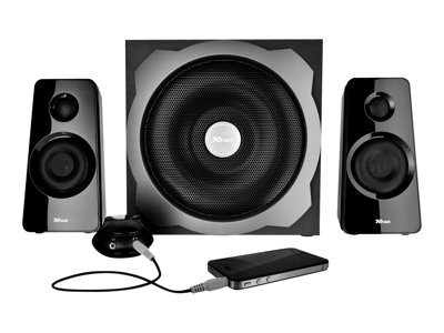 Tytan 2.1 Subwoofer Speaker Set - sistema altoparlanti - per PC