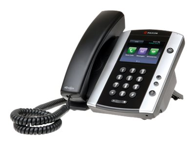 Polycom TDSourcing VVX 501 - VoIP phone - 3-way call capability
