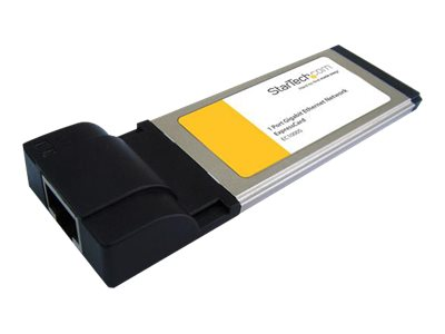 StarTech.com 34mm Ethernet Laptop ExpressCard - Netzwerkadapter - ExpressCard - Gigabit Ethernet