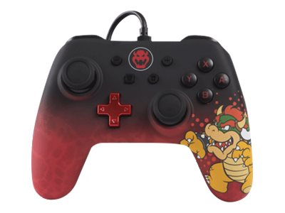 POWER A Character Series Bowser Edition - game pad - cablato