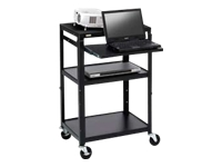 Bretford Basics Adjustable Projector Cart A2642NSE