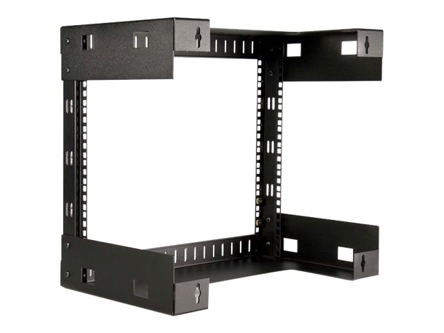 StarTech.com 8U Open Frame Wall Mount Equipment Rack - 12in Deep