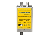 TechniSat TechniRouter Mini 2/1x2 - Multiswitch Satelliten-/terrestrisches Signal