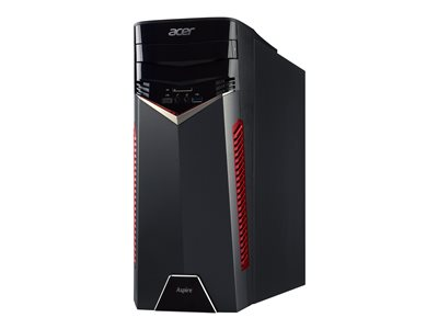 Acer Aspire GX-785_W Tower 1 x Core i5 7400 / 3 GHz RAM 8 GB HDD 2 TB DVD-Writer