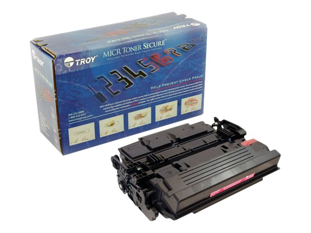 TROY MICR Toner Secure M501/M506/M527 - High Yield - black - MICR toner cartridge (alternative for: HP CF287X)