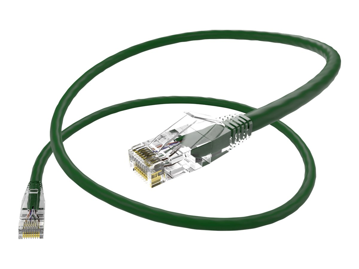 Oncore ClearFit patch cable - 15 cm - green