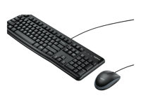 Logitech Desktop MK120 - Keyboard and mouse set