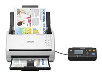 Epson WorkForce DS-530N - Scanner de documents - Recto-verso - A4 - 600 ppp x 600 ppp - jusqu'à 35 ppm (mono) / jusqu'à 35 ppm (couleur) - Chargeur automatique de documents (50 feuilles) - jusqu'à 4000 pages par jour - USB 3.0, Gigabit LAN