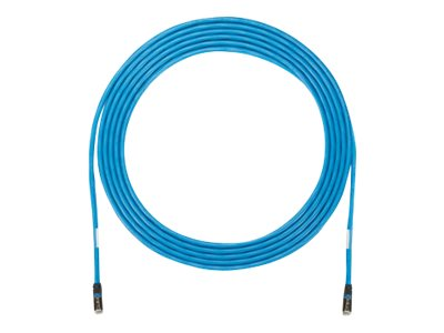 Panduit PanZone patch cable - 30.5 m - blue