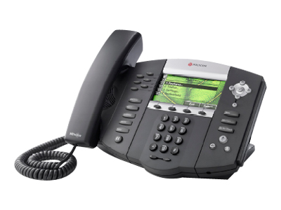 equal2new POLYCOM SOUNDPOINT IP 670 6 LINE COLOR DISPLAY IP PHONE WITH HD VOICE