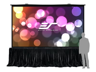 Elite Screens QuickStand 5-Second Series Projection screen with floor stand floor-standing