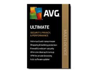 AVG Ultimate 2020 Subscription license (1 year) 10 devices ESD Win, Mac,