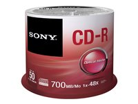 Sony CDQ-80SP - 50 x CD-R