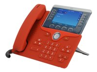 zCover CI881HFD Phone base cover red for Cisco IP P