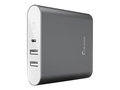 i-Blason Aero Power bank 10400 mAh 2.1 A Fast Charge 2 output connectors (USB) o