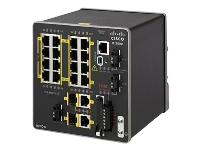 Cisco Industrial Ethernet 2000 Series Switch managed