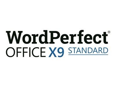 WordPerfect Office X9 Standard Edition Media CTL Win English, French