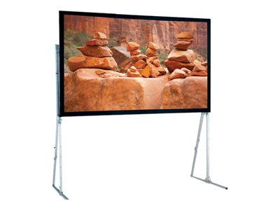 Draper Ultimate Folding Screen HDTV Format Projection screen with heavy duty legs
