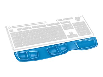 Fellowes Keyboard Palm Support - Tastaturplattform mit Handgelenkstütze - Blau