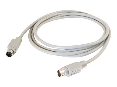 C2G Serial cable 8 pin mini-DIN (M) to 8 pin mini-DIN (M) 10 ft molded