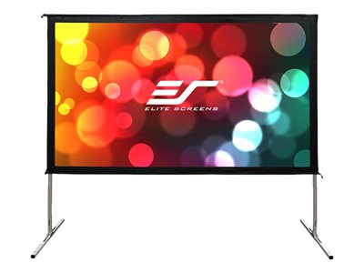 Elite Screens Yard Master 2 Series OMS150H2-DUAL Projection screen with legs 150INCH (150 in)