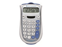 Texas Instruments TI-1706 SV Pocket calculator 8 digits solar panel, bat