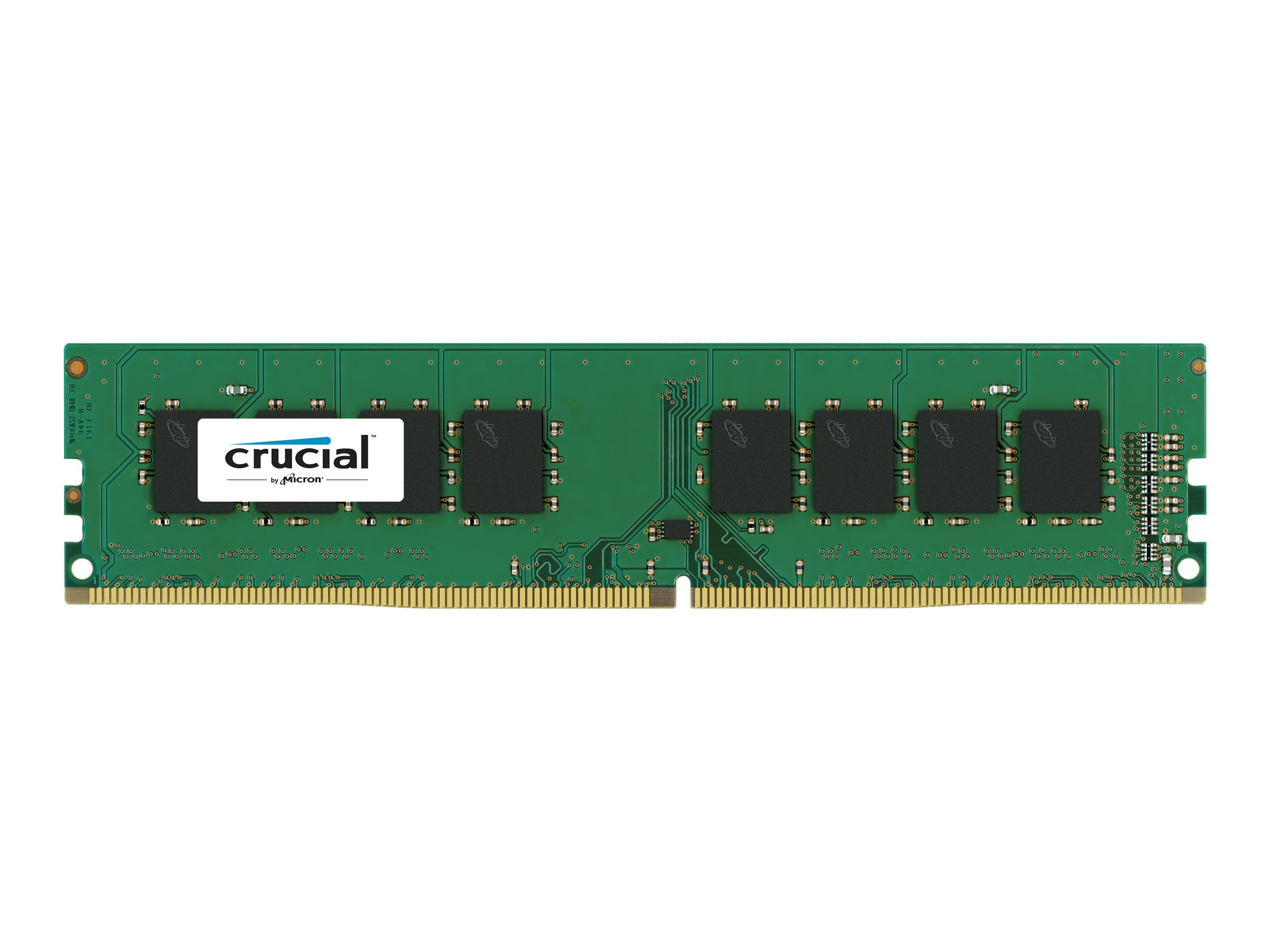 Crucial - DDR4 - 8 GB : 1 x 8 GB - DIMM 288-PIN - 2133 MHz / PC4-17000 - CL15
