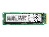 HP Z Turbo Drive G2 - Solid state drive - 256 GB - internal - M.2 - PCI Express 3.0 x4 (NVMe) - promo - for Workstation Z4 G4, Z6 G4
