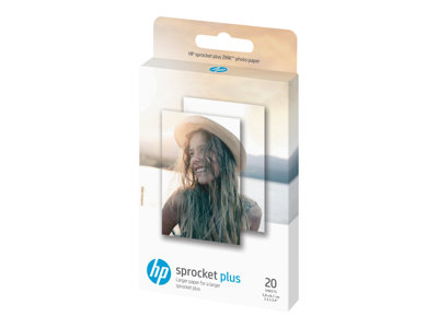 HP ZINK Sticky-Backed Fotopapir 58 x 87 mm 20ark