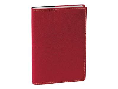 Quo Vadis Universitaire Club - Agenda - semainier - 100 x 150 mm - rouge
