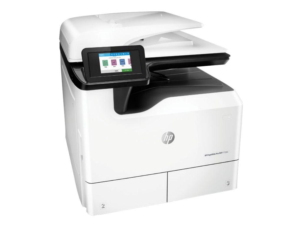 HP PageWide Pro MFP 772dn - Multifunktionsdrucker - Farbe - Tintenstrahl - A4 (210 x 297 mm), A3 (297 x 420 mm) (Original) - A3 (Medien)