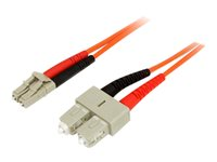 StarTech.com Câble fibre optique duplex multimode 50/125 OM2 de 2 m