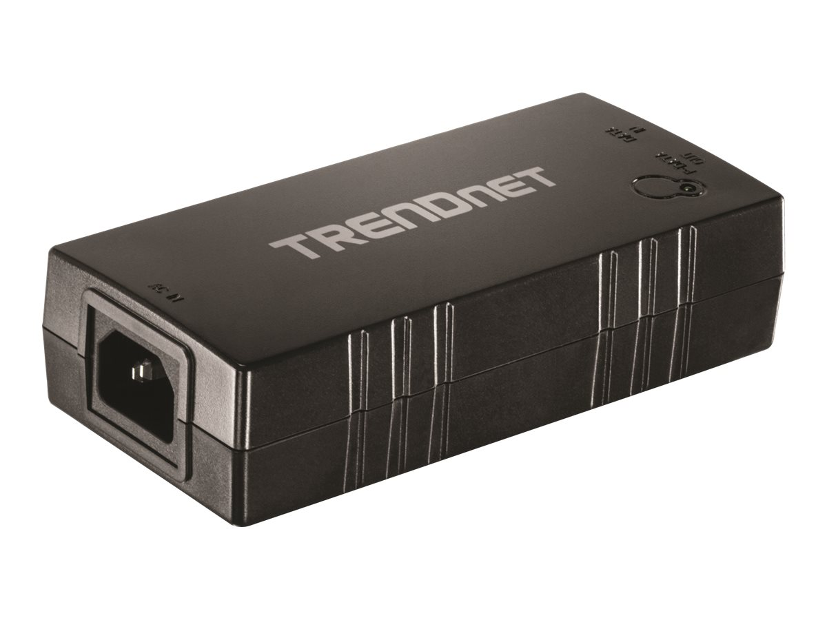 TRENDnet TPE-115GI Gigabit PoE+ Injector - Power Injector - 30 Watt - Ausgangsbuchsen: 1