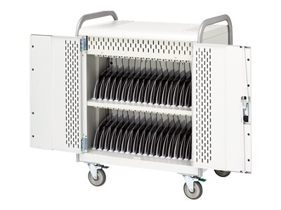 Bretford Basics 36 Unit Tablet Cart MDMTAB36BP Cart for 36 tablets steel