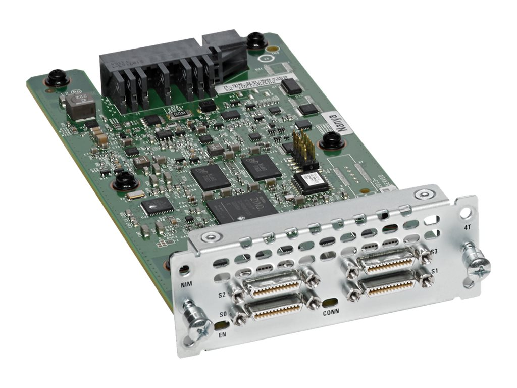 Cisco WAN Network Interface Module - Serieller Adapter - RS-232/449/530/V.35/X.21 x 4 - für Cisco 4451-X