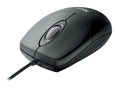 Trust Optical Mouse Optisk Kabling