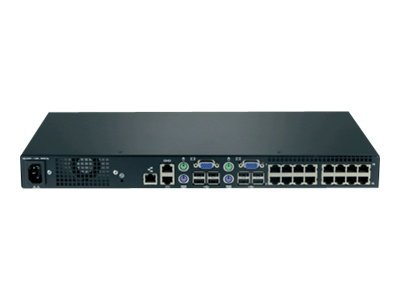 Lenovo Local 2x16 Console Manager - KVM-Switch - CAT5 - 16 x KVM port(s) - 2 lokale Benutzer - an Rack montierbar