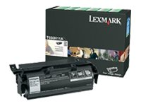 Lexmark High Yield black original toner cartridge LCCP, LRP