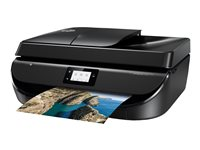 HP Officejet 5220 All-in-One - Imprimante multifonctions - couleur - jet d'encre - 216 x 297 mm (original) - A4/Legal (support) - jusqu'à 8 ppm (copie) - jusqu'à 20 ppm (impression) - 100 feuilles - 33.6 Kbits/s - USB 2.0, Wi-Fi(n)