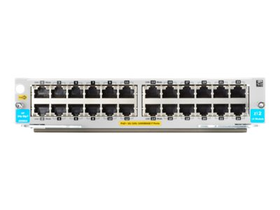 HPE Expansion module Gigabit Ethernet (PoE+) x 24