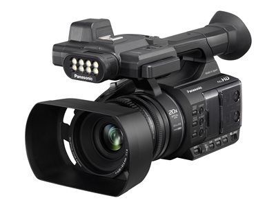 Panasonic AG-AC30 Camcorder 1080p / 60 fps 6.03 MP 20x optical zoom flash card