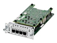 Cisco Fourth-Generation Network Interface Module - Voice / fax module