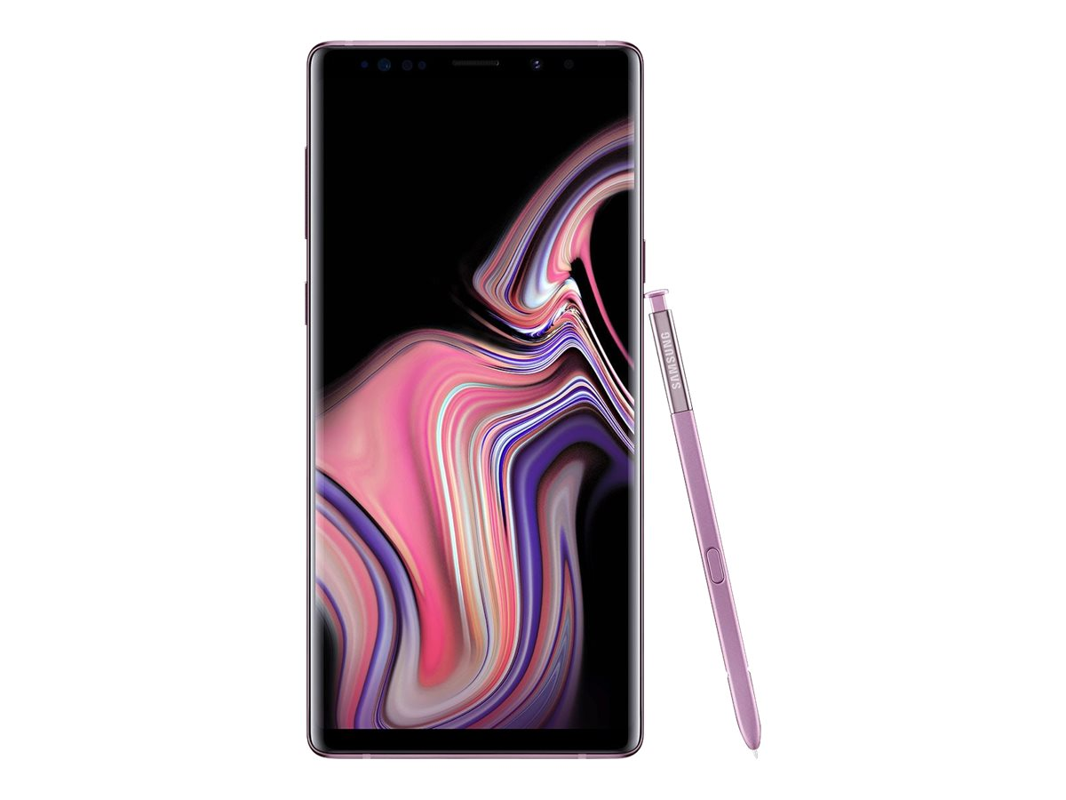 Samsung Galaxy Note9 Unlocked - lavender purple - 4G - 128 GB - CDMA / GSM - smartphone