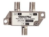 ChannelPlus 2512 Antenna splitter / combiner F connector (F) to F connector (F) coaxi