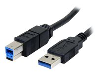 StarTech.com 6 ft Black SuperSpeed USB 3.0 Cable A to B